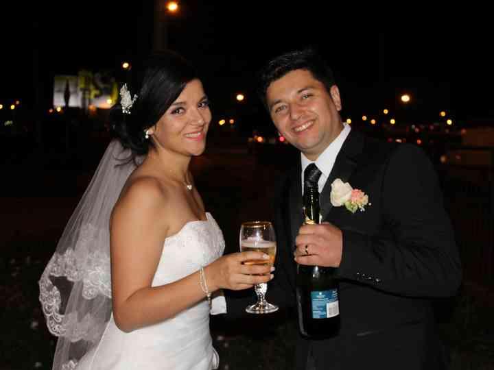 El matrimonio de Solange y Felipe