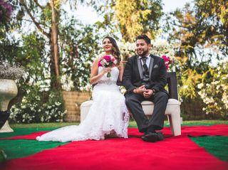 El matrimonio de Tania y Claudio