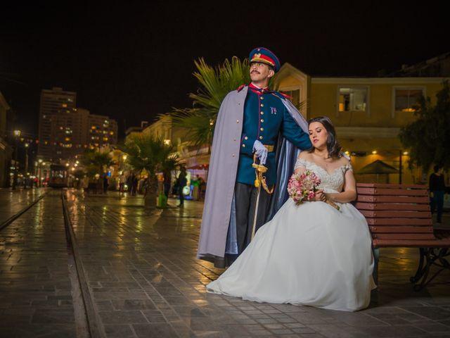 El matrimonio de Arlyn y José