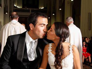 El matrimonio de María Paz y Mario