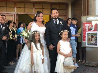 El matrimonio de Marisel y Cristian