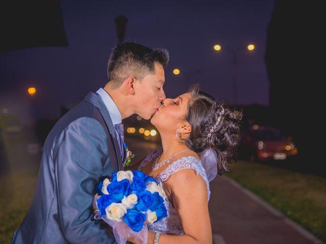 El matrimonio de Jocelyn y Luis
