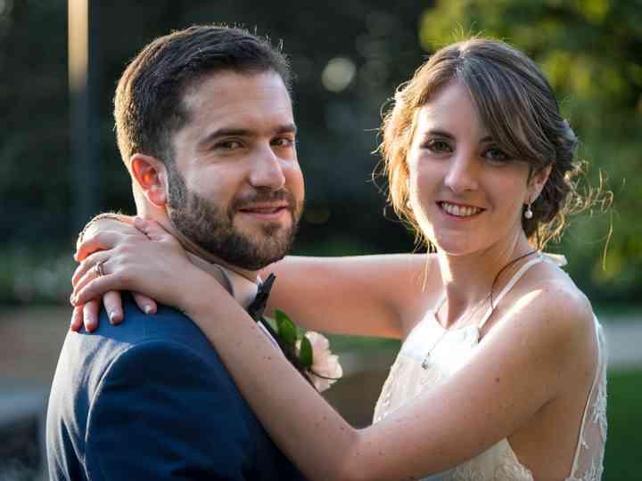 El matrimonio de Maria José y Rodrigo