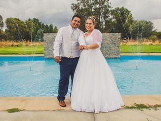 El matrimonio de Cinthia y José
