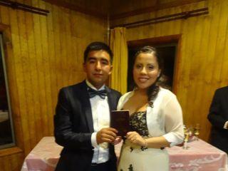 El matrimonio de Catherine y Elias
