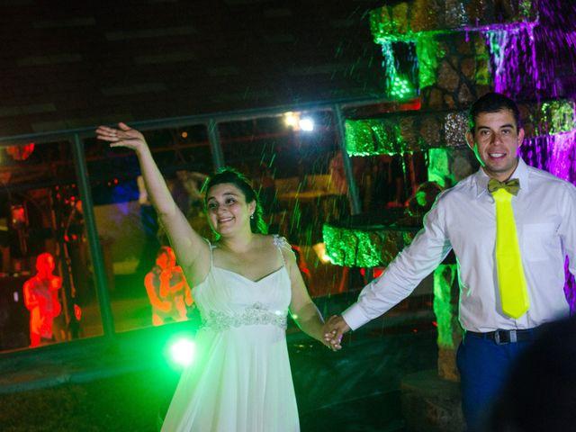 El matrimonio de María de los Ángeles y Miguel