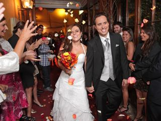El matrimonio de María Teresa y Cristian