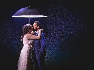 El matrimonio de Lindsey y Andrés
