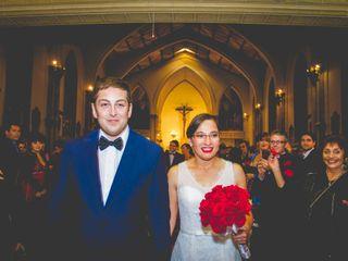 El matrimonio de Ximena y Gonzalo