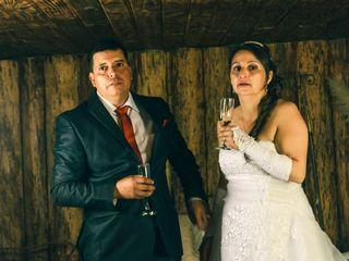 El matrimonio de Marcela y Simón