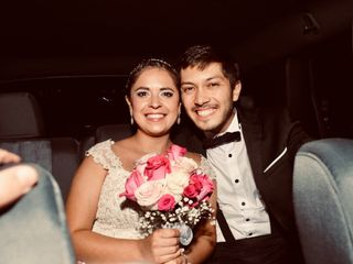 El matrimonio de Mario Poblete y Roció Avila