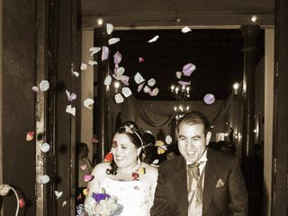 El matrimonio de Evelyn y Alfredo