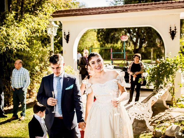 El matrimonio de Natalia Farías y Ricardo munizaga