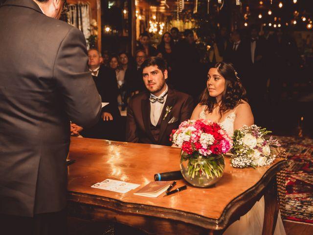 El matrimonio de Cristóbal y Macarena
