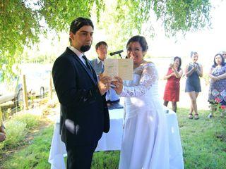 El matrimonio de Valeska y Marco