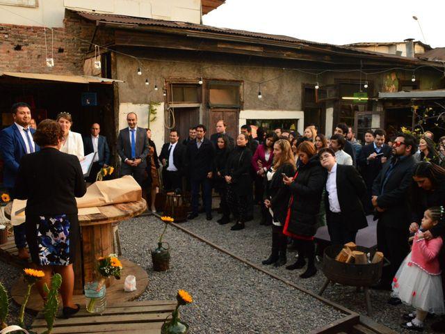 El matrimonio de An Ja Bo y Mariano en Santiago, Santiago 23