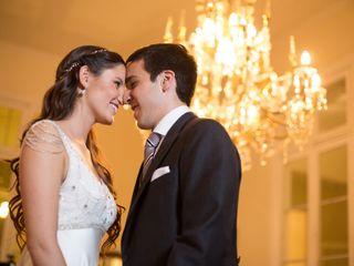 El matrimonio de Cata y Carlos