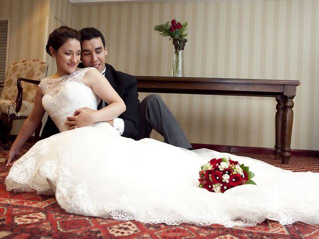 El matrimonio de Cristal y Felipe