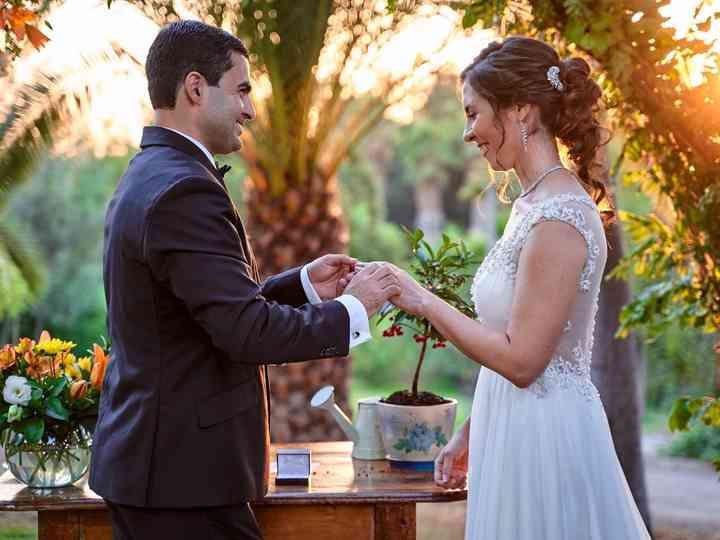 El matrimonio de Macarena y Ambrosio
