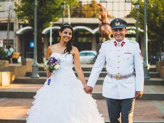 El matrimonio de Mariela y Angel