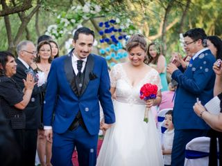 El matrimonio de Yanet y Eric