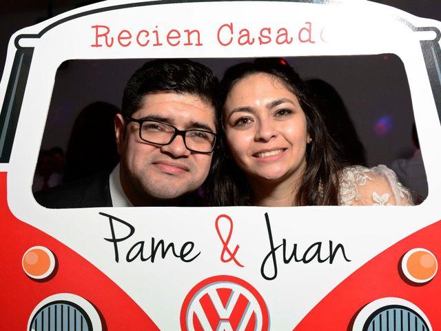 El matrimonio de Pamela y Juan