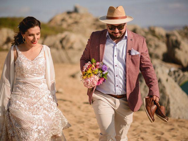 El matrimonio de Eduardo y Alejandra en El Tabo, San Antonio 17