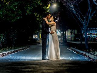 El matrimonio de Maryorie  y Nicolás