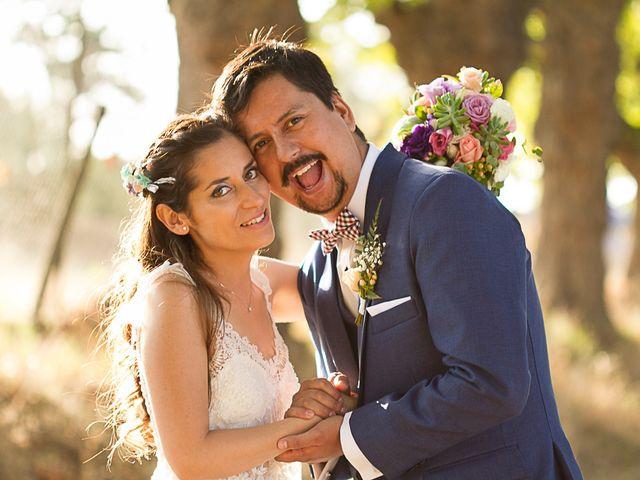El matrimonio de Sybil y Andrés