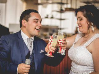 El matrimonio de Vanesa y Claudio