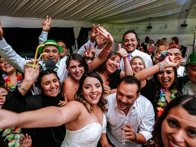 El matrimonio de Luis y Camila  en Pirque, Cordillera 14
