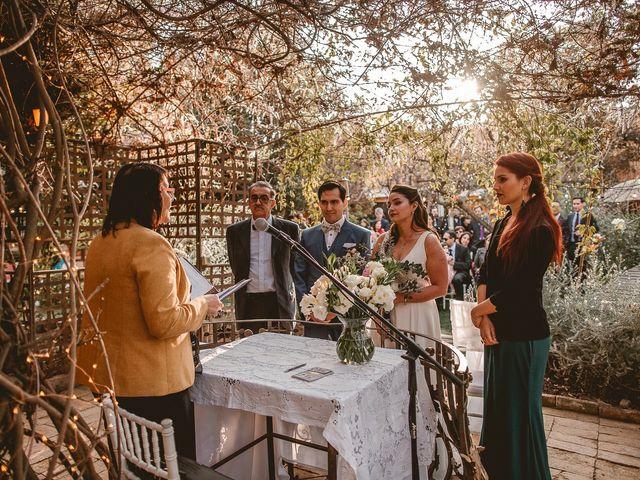 El matrimonio de Alejandro y Gabriela en Calera de Tango, Maipo 2
