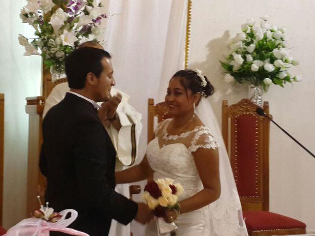 El matrimonio de Yanine y Alan