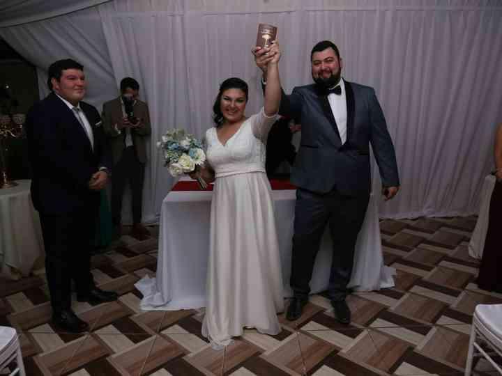 El matrimonio de Isabel y Blas