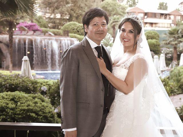 El matrimonio de Tania y Rodrigo