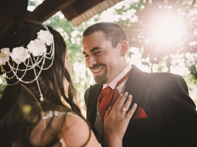El matrimonio de Samuel y Violeta