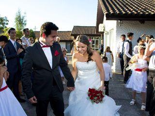 El matrimonio de Tania y Leonardo