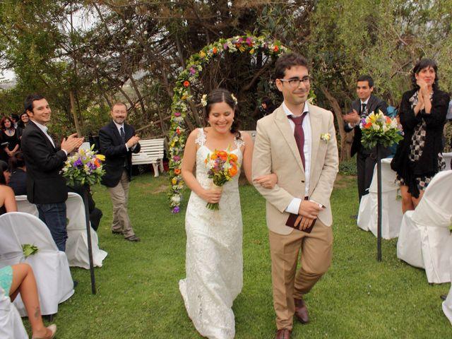El matrimonio de Romi y David