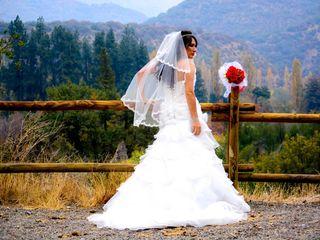 El matrimonio de Carita y Andretti 1