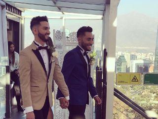 El matrimonio de Marcelo  y Alexander  1