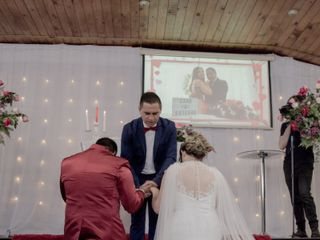 El matrimonio de Caroline y Esteban  2