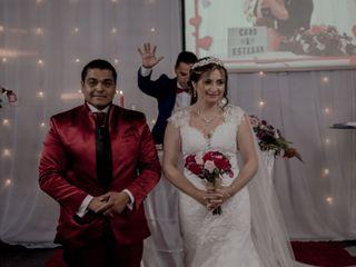 El matrimonio de Caroline y Esteban  3