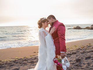 El matrimonio de Caroline y Esteban