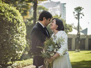 El matrimonio de Johnson y Angélica 3