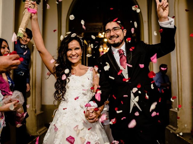El matrimonio de Sebastián y Karina