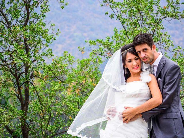 El matrimonio de Carita y Andretti