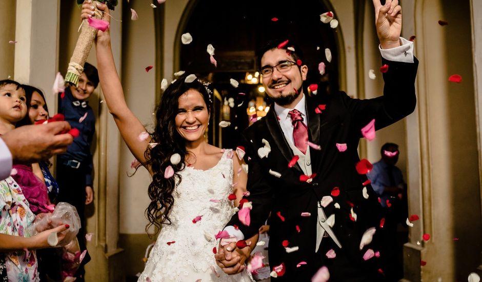 El matrimonio de Karina y Sebastián en Recoleta, Santiago