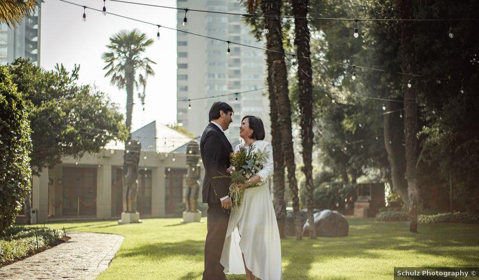 El matrimonio de Angélica y Johnson en Las Condes, Santiago