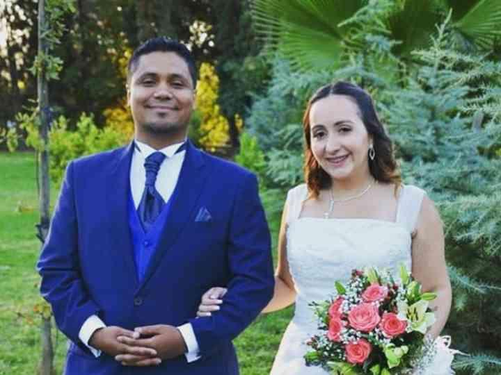 El matrimonio de Alicia y Michael