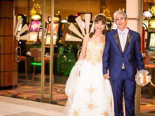 El matrimonio de Mónica  y Juan Guillermo  2
